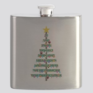 CHRISTMAS TREE Flask