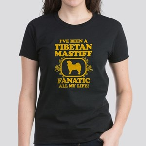 Tibetan Mastiff Women's Dark T-Shirt