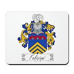 Feliciani Family Crest Mousepad