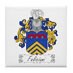 Feliciani Family Crest Tile Coaster