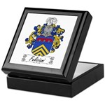 Feliciani Family Crest Keepsake Box