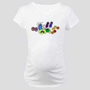 I Love Bacteria Too! Maternity T-Shirt