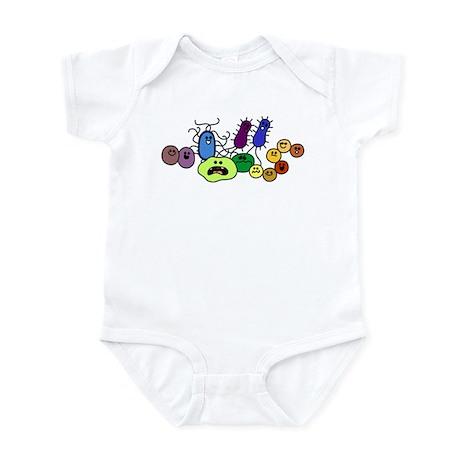 I Love Bacteria Too! Infant Bodysuit