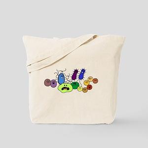 I Love Bacteria Too! Tote Bag