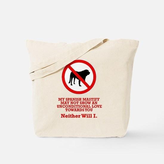 Spanish Mastiff Tote Bag