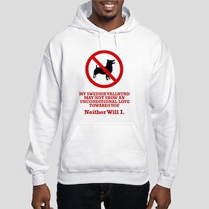 Swedish Vallhund Hooded Sweatshirt