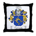 Ferrante Family Crest Throw Pillow
