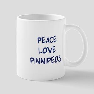 Peace, Love, Pinnipeds Mug