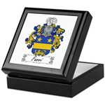 Ferri Family Crest Keepsake Box