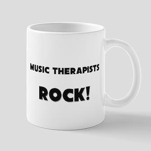 Music Therapists ROCK Mug