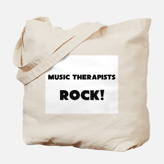 Music Therapists ROCK Tote Bag
