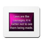 Laws Mousepad