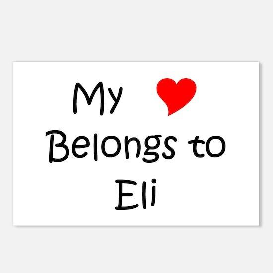 Cute Eli Postcards (Package of 8)