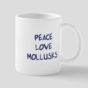 Peace, Love, Mollusks Mug