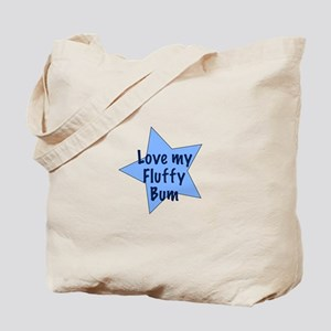 Love my fluffy bum - boy Tote Bag