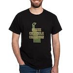 Delaware State Cornhole Champ Dark T-Shirt
