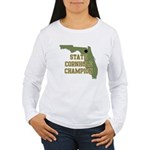 Florida State Cornhole Champi Women's Long Sleeve