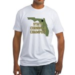 Florida State Cornhole Champi Fitted T-Shirt
