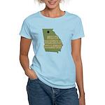 Georgia State Cornhole Champi Women's Light T-Shir