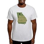 Georgia State Cornhole Champi Light T-Shirt
