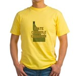 Idaho State Cornhole Champion Yellow T-Shirt