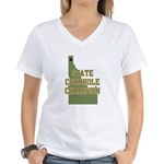 Idaho State Cornhole Champion Women's V-Neck T-Shi