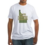 Idaho State Cornhole Champion Fitted T-Shirt