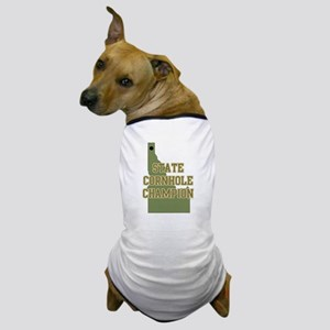 Idaho State Cornhole Champion Dog T-Shirt