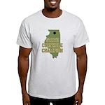 Illinois State Cornhole Champ Light T-Shirt