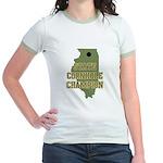 Illinois State Cornhole Champ Jr. Ringer T-Shirt