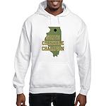 Illinois State Cornhole Champ Hooded Sweatshirt