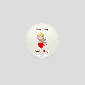 Nana's Little Valentine (angel) Mini Button