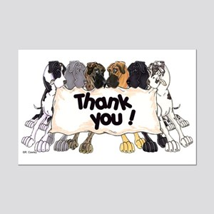 N6 Thank You Mini Poster Print