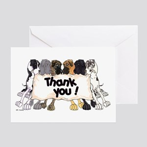 N6 Thank You Greeting Card