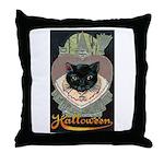 Charms of Halloween Throw Pillow