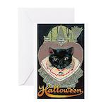 Charms of Halloween Greeting Card