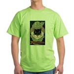 Charms of Halloween Green T-Shirt