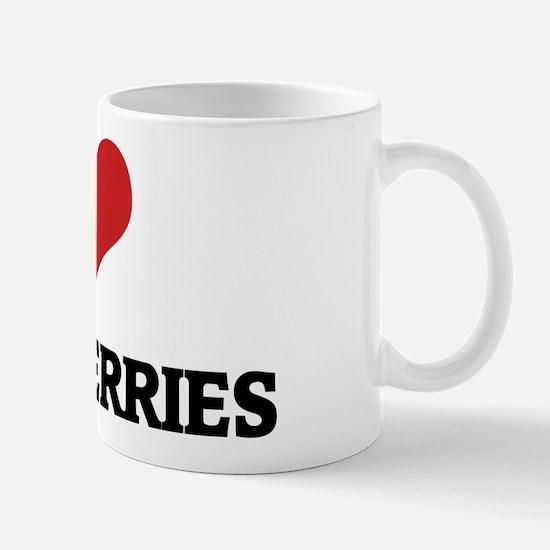 I Love Strawberries Mug