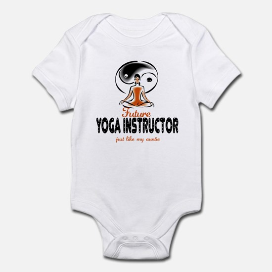 Future Yoga Instructor like Aunt Infant Bodysuit