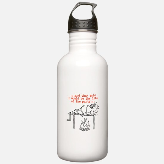 Roasted Pig Water Bottle