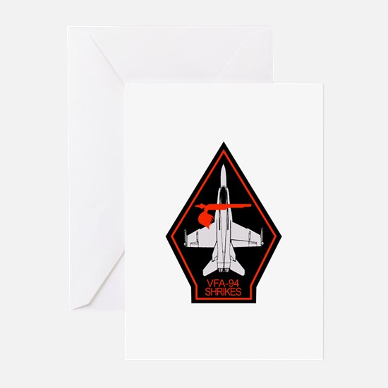 vfa-94_f18_HORNET Greeting Cards
