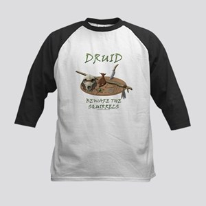 Druid - Beware the Squirrels Kids Baseball Jersey