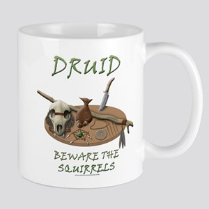 Druid - Beware the Squirrels Mug