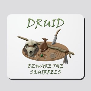 Druid - Beware the Squirrels Mousepad