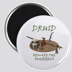 Druid - Beware the Squirrels Magnet