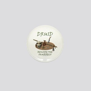 Druid - Beware the Squirrels Mini Button