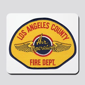 L.A. County Fire Air Ops Mousepad