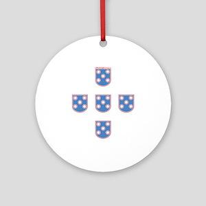 Portuguese Shields | Keepsake (Round)