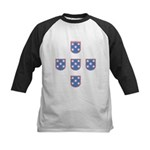 Portuguese Shields | Kids Baseball Jersey