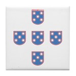 Portuguese Shields | Tile Coaster